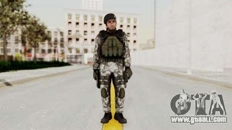 Black Mesa - HECU Marine Beret for GTA San Andreas second screenshot