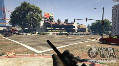 GTA 5 Steyr AUG A1 fourth screenshot