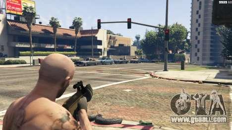 GTA 5 Steyr AUG A1 third screenshot