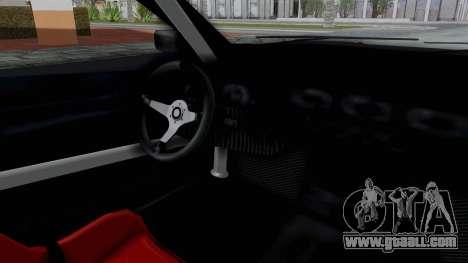 Elegy v2 for GTA San Andreas back view