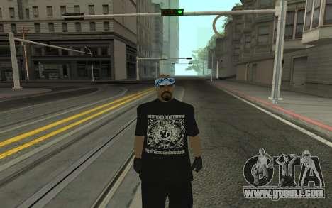 Varios Los Aztecas Gang Member for GTA San Andreas