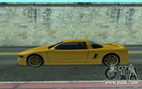 BlueRay's V9 Infernus for GTA San Andreas left view