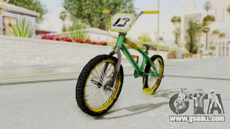 Bully SE - BMX for GTA San Andreas right view