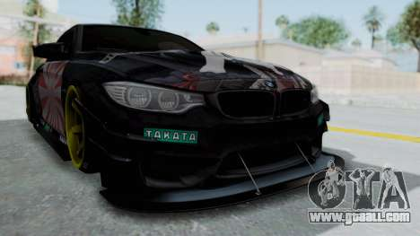 BMW M4 Kurumi Itasha for GTA San Andreas