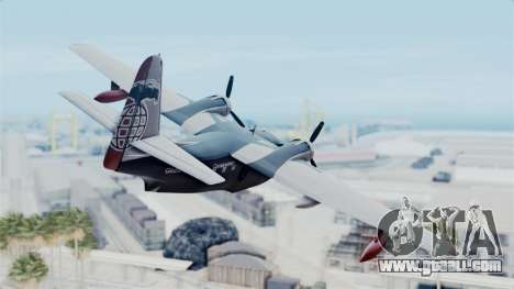 Grumman HU-16 Albatross for GTA San Andreas left view