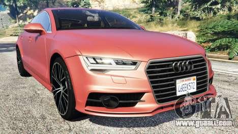 Audi A7 2015 for GTA 5