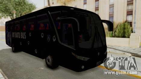 Marcopolo JDT Batu Bus for GTA San Andreas right view