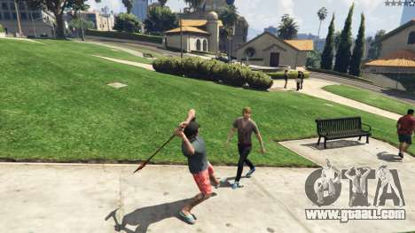 GTA 5 Weapon Variety 0.9 fifth screenshot