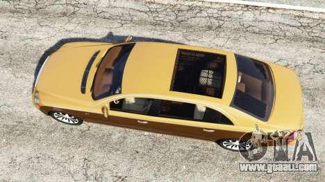 GTA 5 Maybach 62 S back view