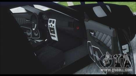 Lada Priora Sedan for GTA San Andreas wheels