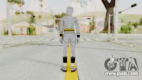 Alien Rangers - White for GTA San Andreas third screenshot