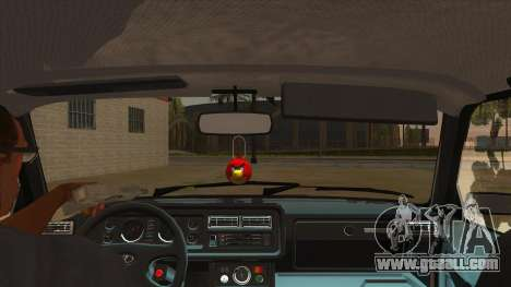 VAZ 2107 RUSSIA for GTA San Andreas inner view