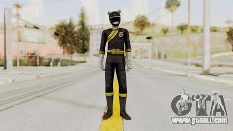 Power Rangers Wild Force - Black for GTA San Andreas second screenshot