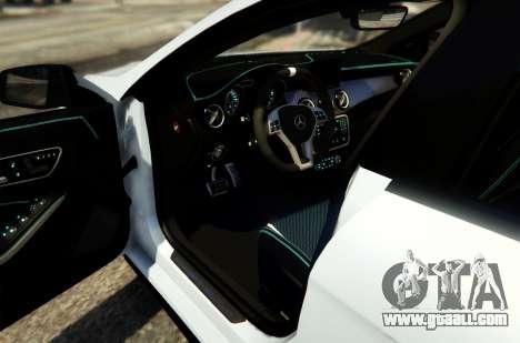 GTA 5 Mercedes-Benz CLA 45 AMG Shooting Brake back view