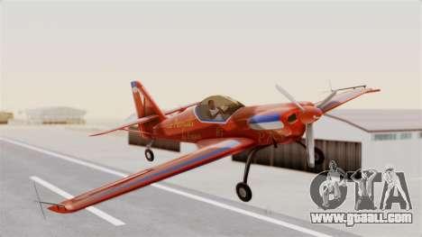 Zlin Z-50 LS v3 for GTA San Andreas back left view
