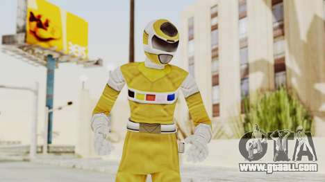 Power Rangers In Space - Yellow for GTA San Andreas