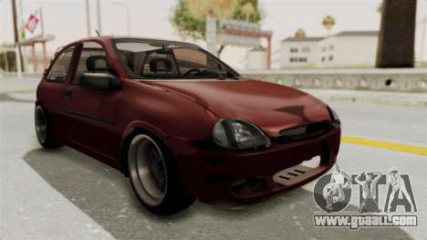 Chevrolet Corsa Hatchback Tuning v1 for GTA San Andreas