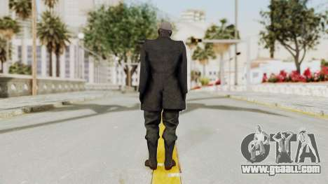 MGSV Phantom Pain SKULLFACE No Hat for GTA San Andreas third screenshot