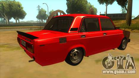 VAZ 2105 Combat Classics for GTA San Andreas right view