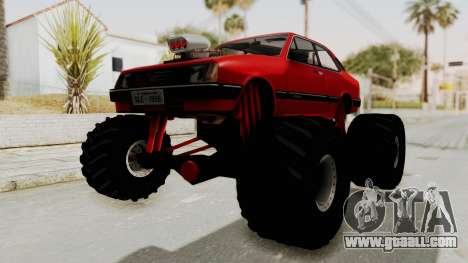 Chevrolet Chevette SL 1988 Monster Truck for GTA San Andreas