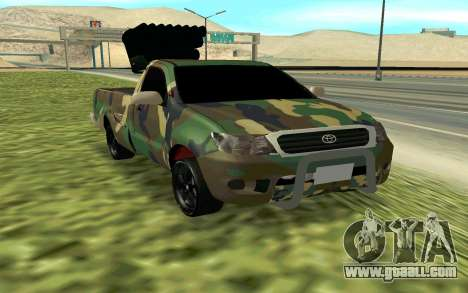 Toyota Hilux 2013 for GTA San Andreas right view