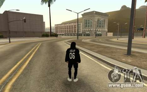 New homeless v4 for GTA San Andreas second screenshot