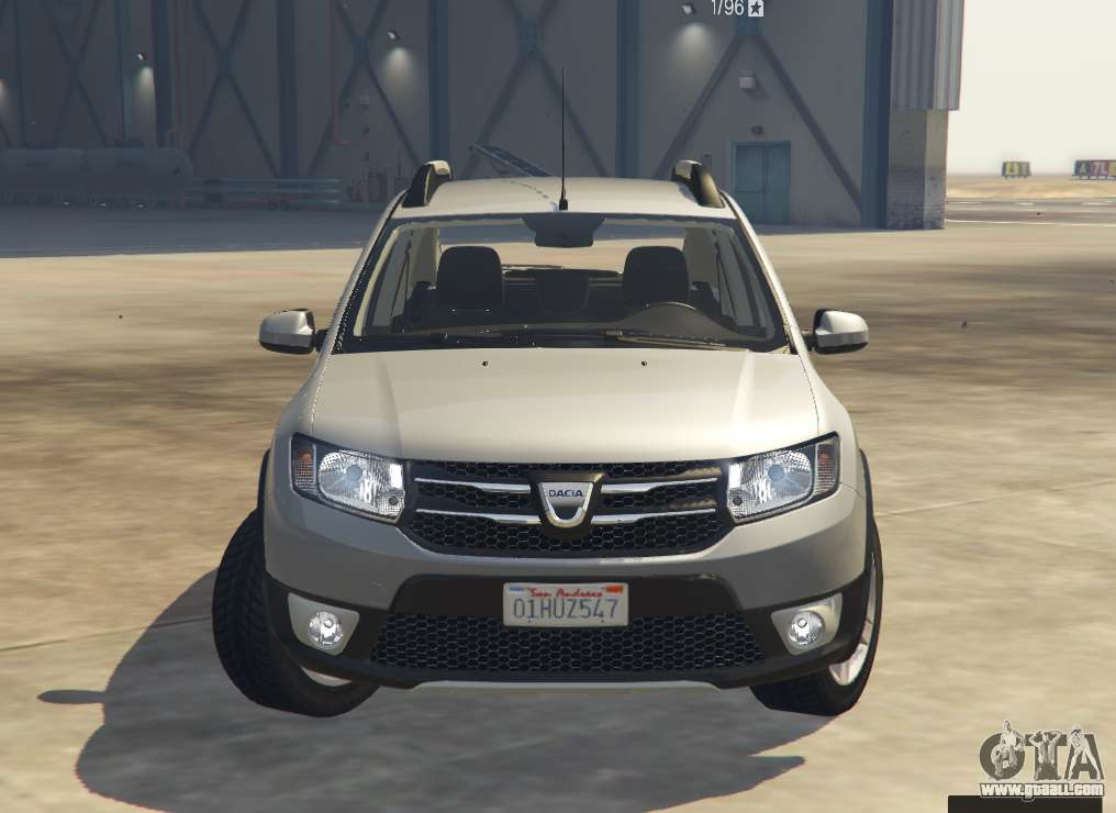 dacia sandero stepway 2014 for gta 5. Black Bedroom Furniture Sets. Home Design Ideas