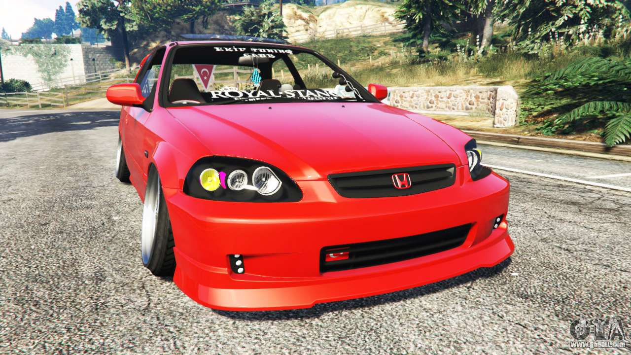 honda civic for gta 5. Black Bedroom Furniture Sets. Home Design Ideas