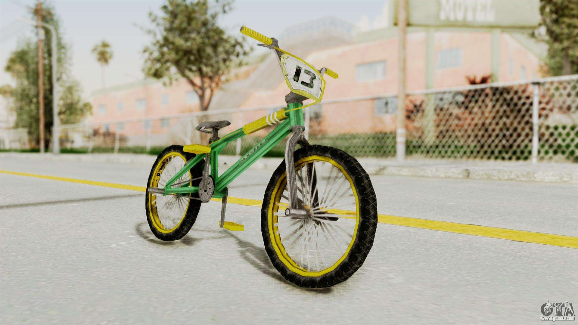 Bully SE - BMX for GTA San Andreas