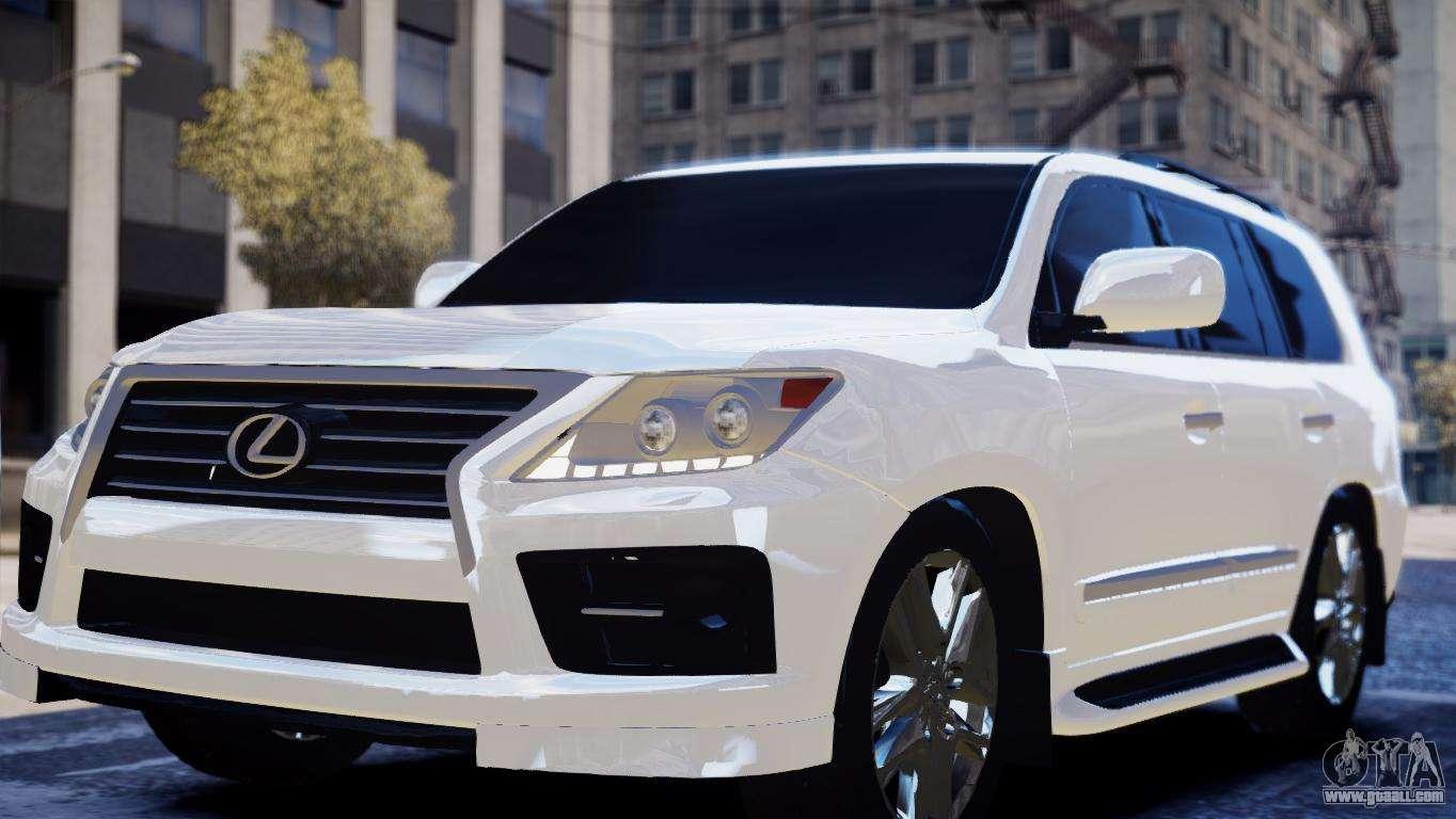 Lexus for GTA 4