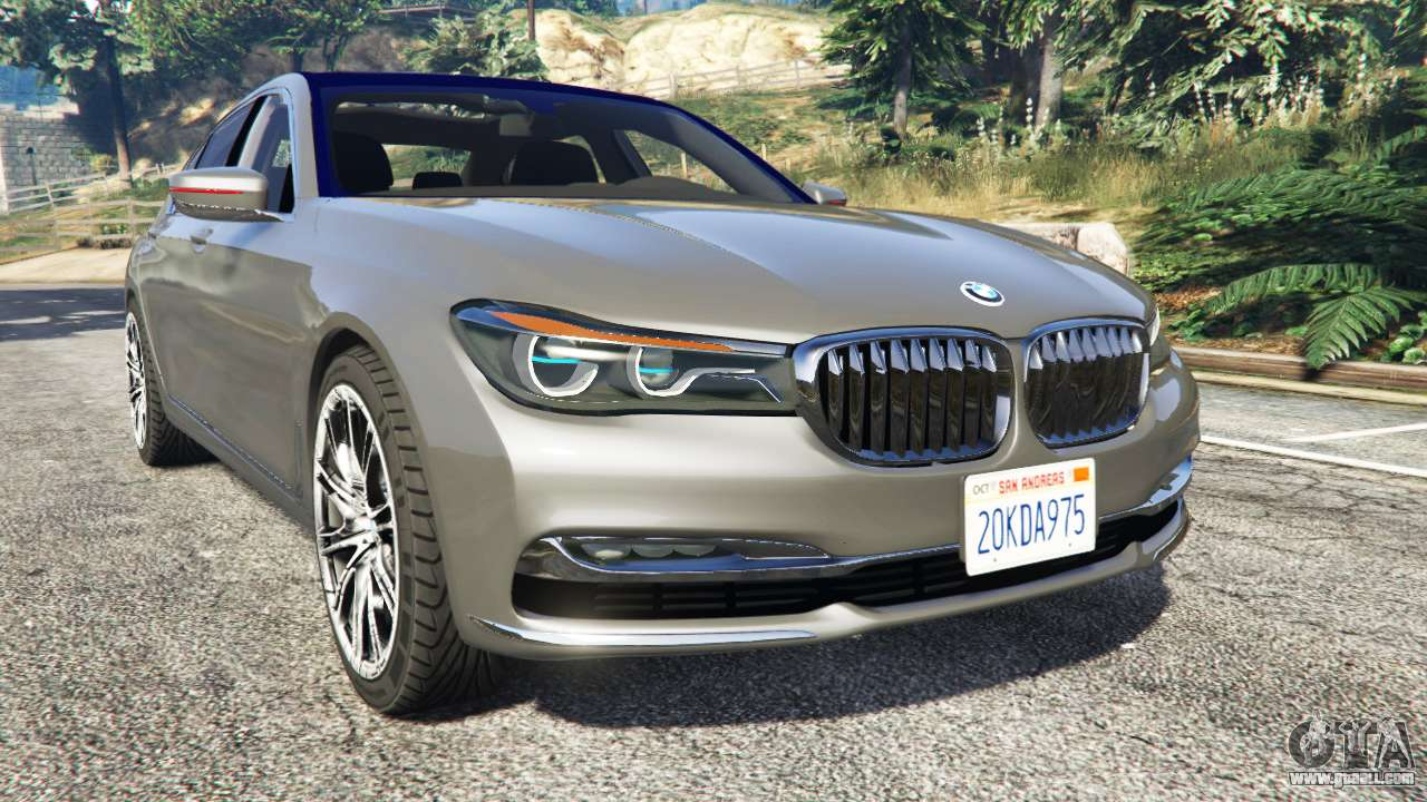 bmw 750li xdrive g12 2016 for gta 5. Black Bedroom Furniture Sets. Home Design Ideas