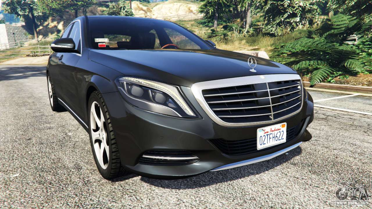Mercedes benz s500 for gta 5 for Mercedes benz gta