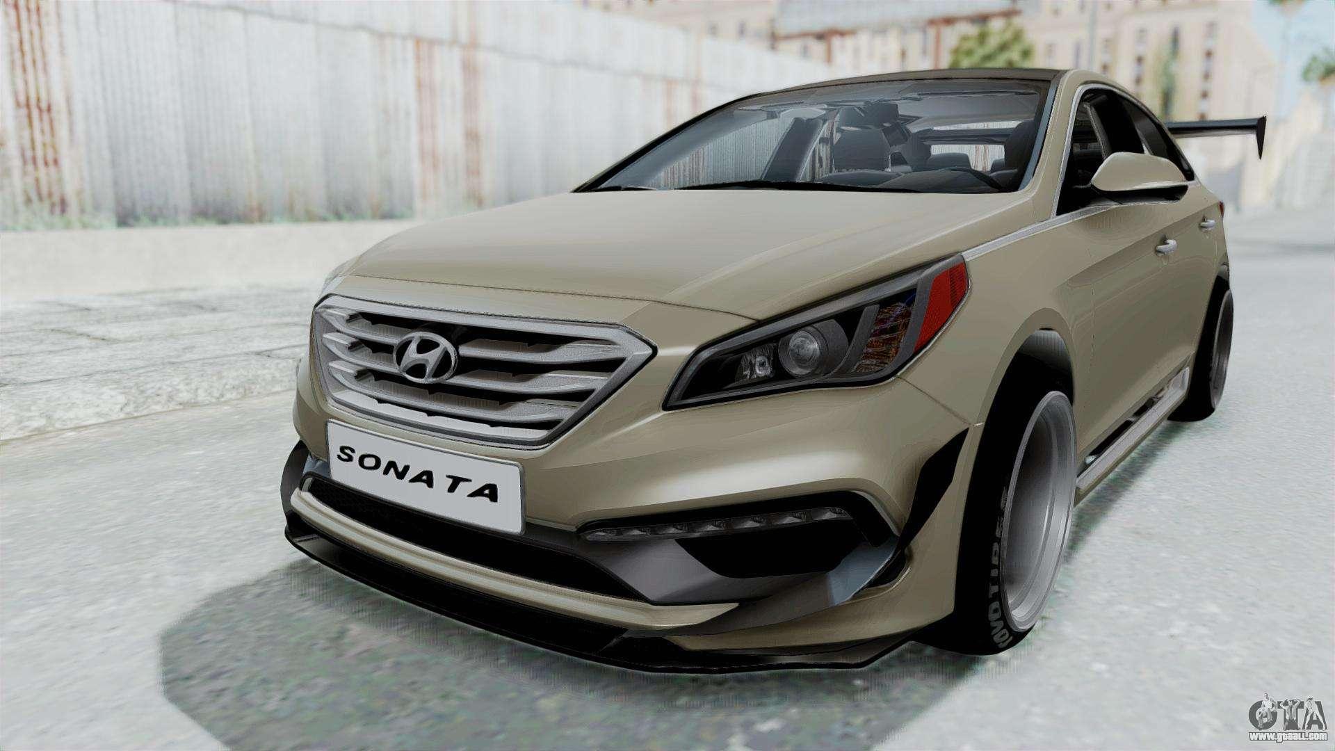 Hyundai Sonata Lf 2 0t 2015 V1 0 Rocket Bunny For Gta San