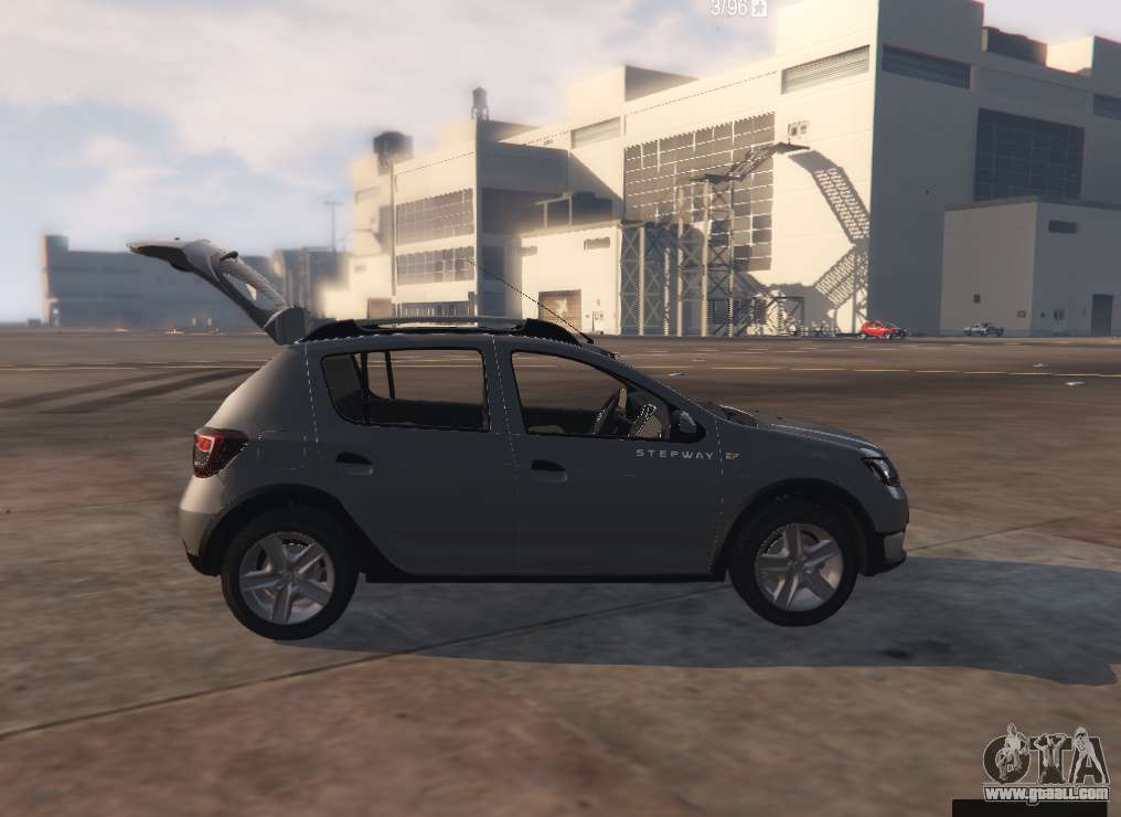 Dacia Sandero Stepway 2014. Machine is set to replace the Weeny Issi