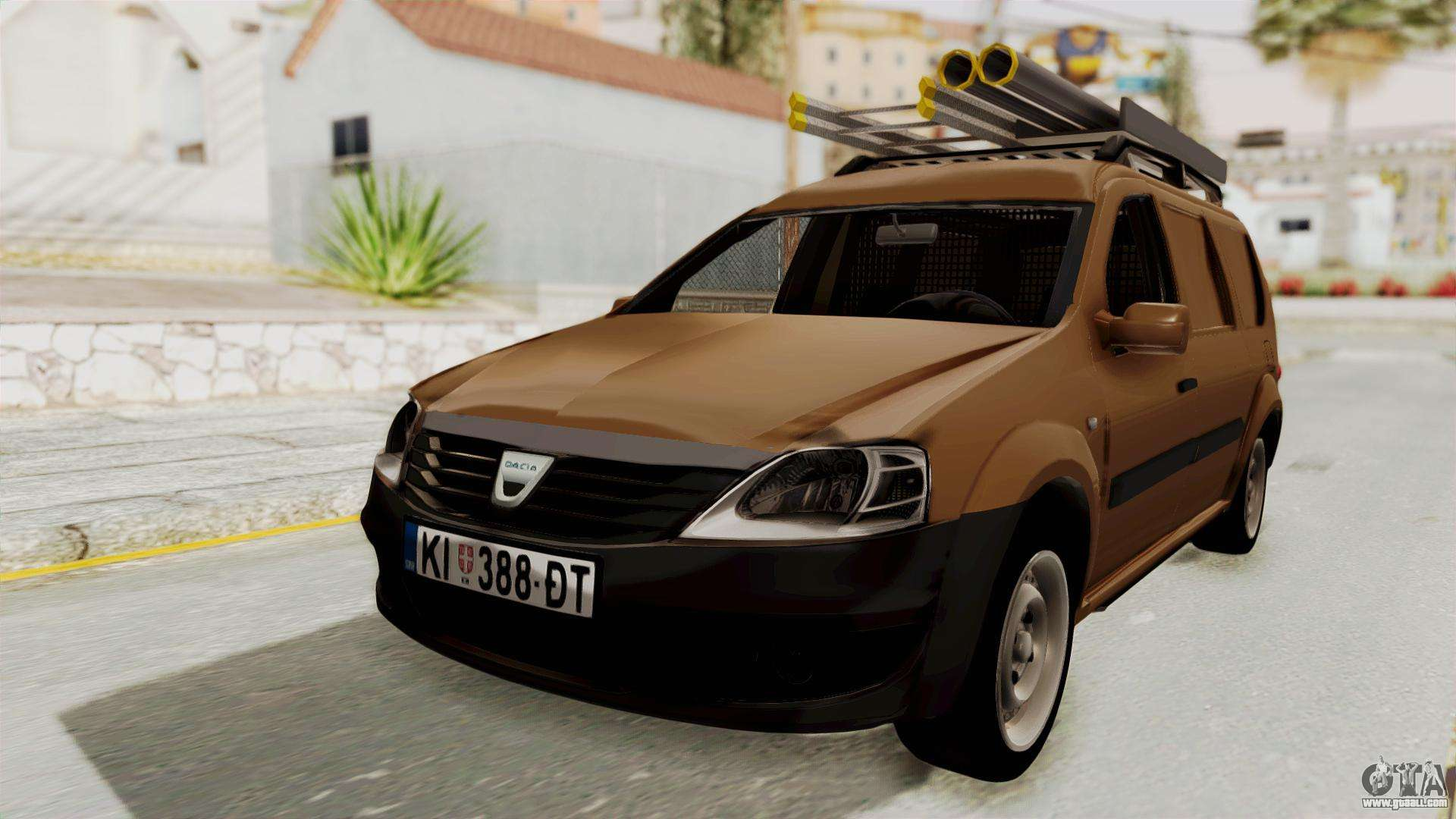 dacia logan mcv van for gta san andreas. Black Bedroom Furniture Sets. Home Design Ideas