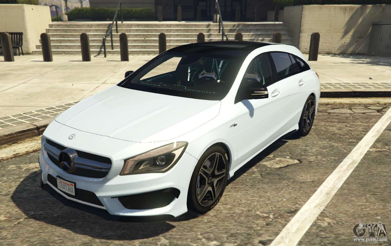Mercedes benz cla 45 amg shooting brake for gta 5 for Mercedes benz gta