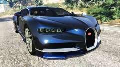 Bugatti Chiron for GTA 5