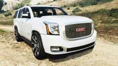GMC Yukon Denali 2015 for GTA 5