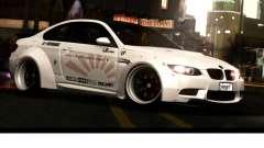 BMW M3 E92 Liberty Walk LB Performance for GTA San Andreas