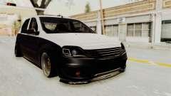Dacia Logan Facelift Stance for GTA San Andreas