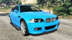 BMW M3 (E46) 2005 Pickup for GTA 5