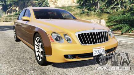 Maybach 62 S for GTA 5