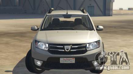 Dacia Sandero Stepway 2014 for GTA 5