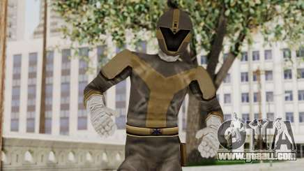Power Rangers Lightspeed Rescue - Titanium for GTA San Andreas