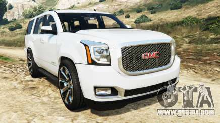 GMC Yukon Denali 2015 for GTA 5