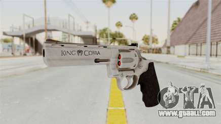 Colt .357 Silver for GTA San Andreas
