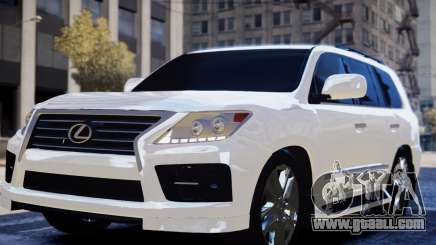 Lexus Lx 570 2014 sport for GTA 4