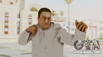 Taher Shah White Suit for GTA San Andreas