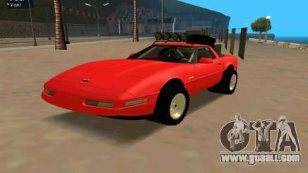 Chevrolet Corvette C4 for GTA San Andreas