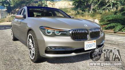 BMW 750Li xDrive (G12) 2016 for GTA 5